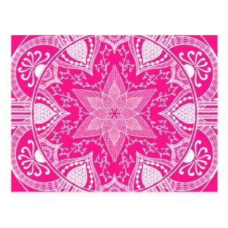 Carte Postale Mandala de digitale