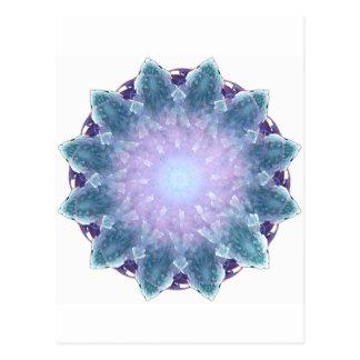 Carte Postale Mandala de fractale de Fiyrnaheh
