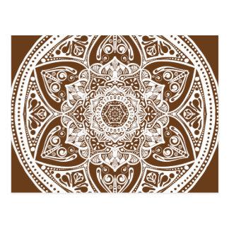 Carte Postale Mandala de gland