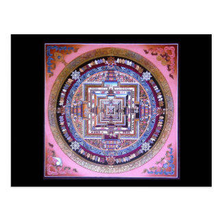Carte Postale Mandala de Kalachakra