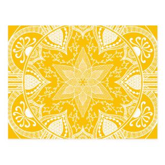Carte Postale Mandala de miel