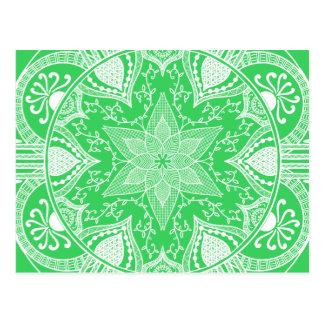 Carte Postale Mandala de ressort