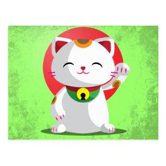 Carte Postale Maneki Neko