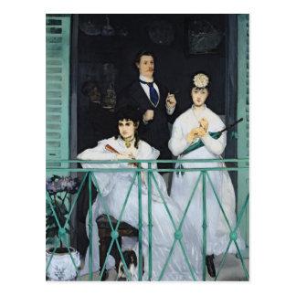Carte Postale Manet | le balcon, 1868-9