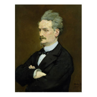 Carte Postale Manet | le journaliste Henri Rochefort, 1881