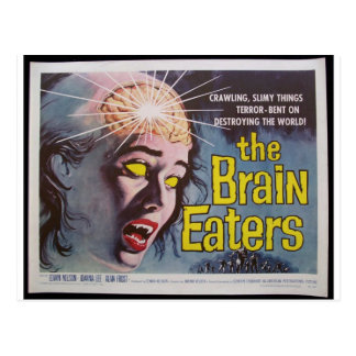 Carte Postale Mangeurs de cerveau