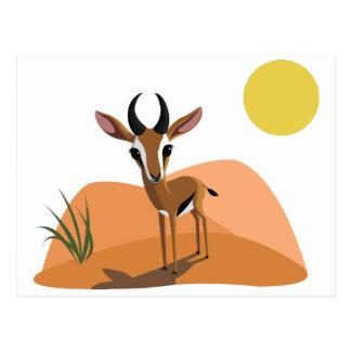 Carte Postale Mangue la gazelle