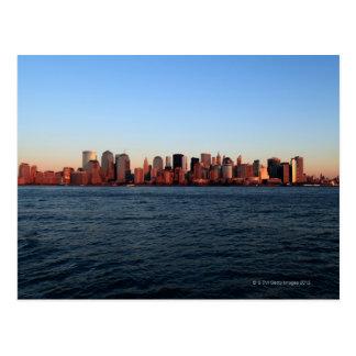 Carte Postale Manhattan du centre au crépuscule