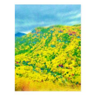 Carte Postale Manière au-dessus des montagnes