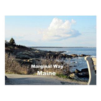 Carte Postale Manière marginale, Maine