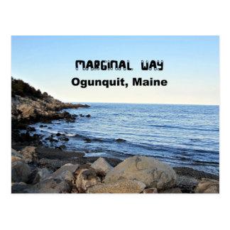 Carte Postale Manière marginale, Ogunquit, Maine