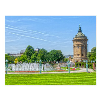 Carte Postale Mannheim