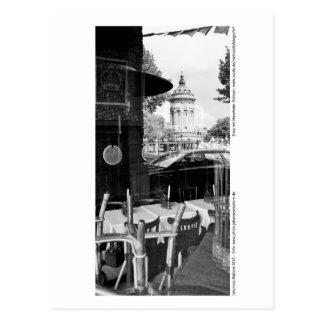 Carte Postale Mannheim - Arcaden au château d'eau