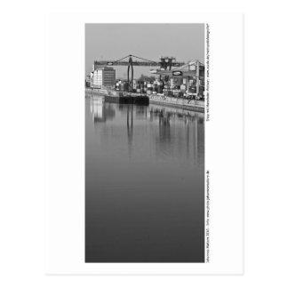 Carte Postale Mannheim - au port
