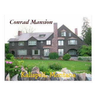 Carte Postale Manoir de Conrad, Kalispell Montana