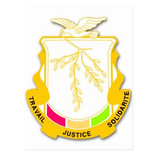 Carte Postale Manteau de Guinée des bras GN