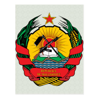 Carte Postale Manteau de la Mozambique de détail de bras