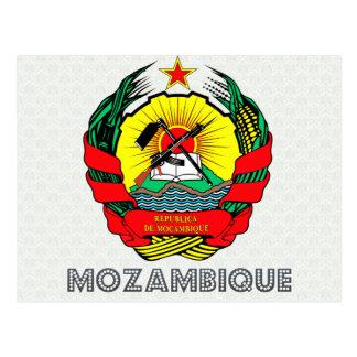 Carte Postale Manteau de la Mozambique des bras