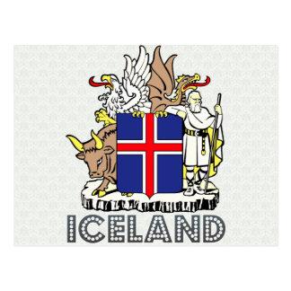 Carte Postale Manteau de l'Islande des bras