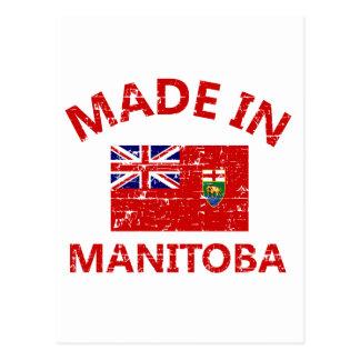 Carte Postale Manteau de Manitoba des bras