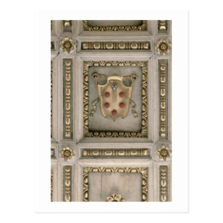 Carte Postale Manteau de Medici des bras, du soffite de l'église