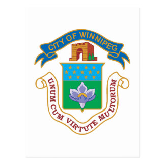 Carte Postale Manteau de Winnipeg des bras