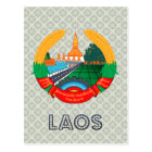Carte Postale Manteau des Laotiens des bras