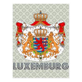 Carte Postale Manteau du luxembourgeois des bras