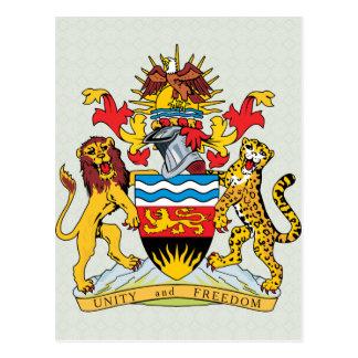 Carte Postale Manteau du Malawi de détail de bras