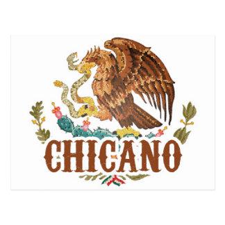 Carte Postale Manteau du Mexique des bras chicano