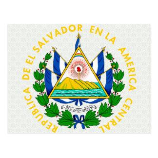 Carte Postale Manteau du Salvador de détail de bras