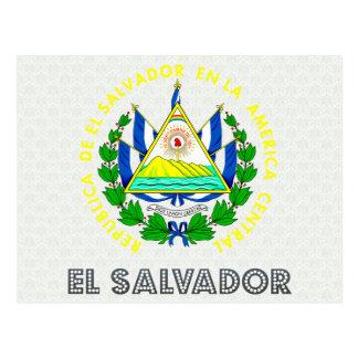 Carte Postale Manteau du Salvador des bras