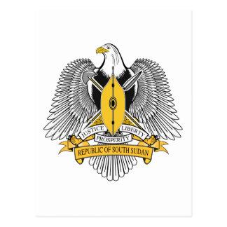 Carte Postale Manteau du Soudan des bras du sud