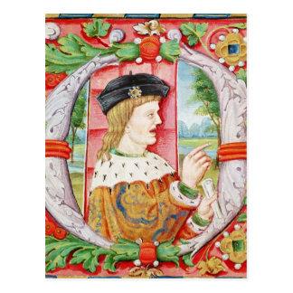 """Carte Postale Manuel I """"le chanceux"""", roi du Portugal"""