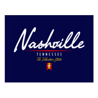 Carte Postale Manuscrit de Nashville