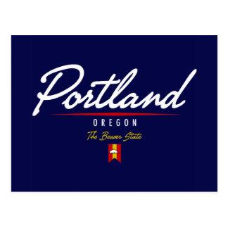 Carte Postale Manuscrit de Portland