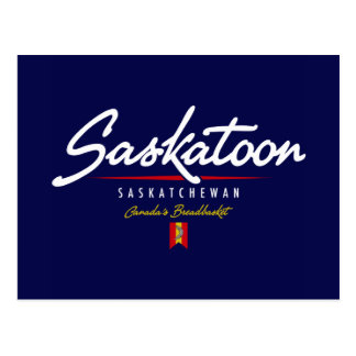 Carte Postale Manuscrit de Saskatoon