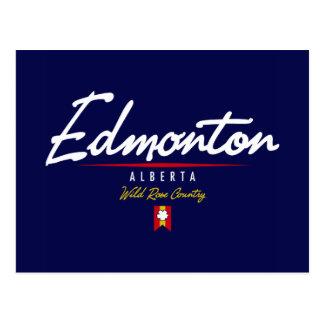 Carte Postale Manuscrit d'Edmonton