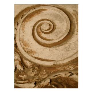 Carte Postale Marbre, le Colosseum