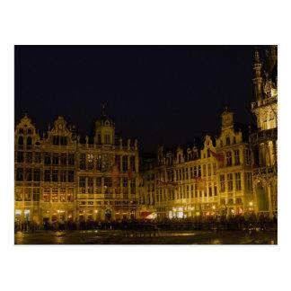 Carte Postale Marché de Grote, Bruxelles, Belgique
