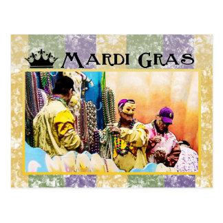 Carte Postale Mardi gras