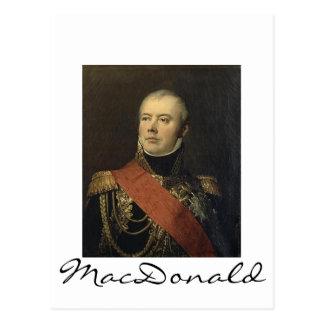 Carte Postale Maréchal MacDonald
