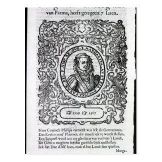 Carte Postale Margaret de Parme, gouverneur de Pays-Bas