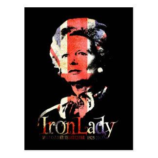 Carte Postale Margaret Thatcher