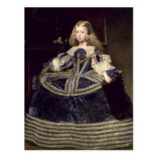 Carte Postale Margarita d'Infanta dans le bleu, 1659