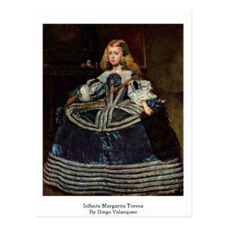 Carte Postale Margarita Teresa d'Infanta par Diego Vélazquez