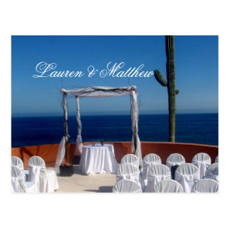 Carte Postale Mariage de Cabo San Lucas