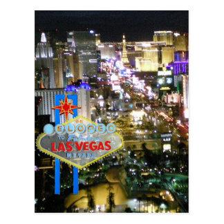 Carte Postale Mariage de Las Vegas nous nous sommes enfuis pour