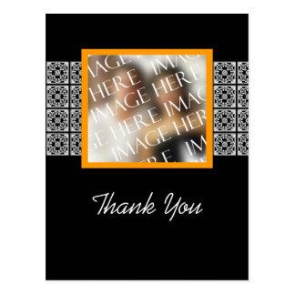 Carte Postale Mariage fait sur commande de modèle photo de Merci
