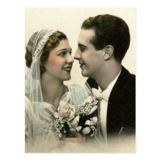 Carte Postale Mariage romantique